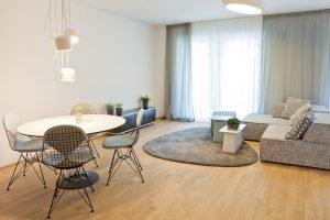 Freisberg Inneneinrichtung & Innenarchitektur - Wohnung Luitport Diringer & Scheidel